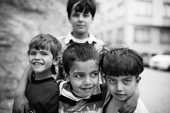 These little Syrian friends... (Giulio Magnifico) Tags: life friends inspiration eye smile closeup composition contrast turkey children happy bigeyes intense friend child power emotion expression refugee refugees muslim young citylife culture streetphotography streetportrait arabic friendly syria essence curious lovely gaze curiosity isis glance genuine jihad turchia sharia kilis photoreportage nikond800e savealeppo