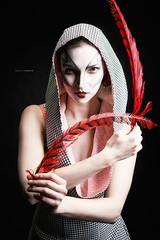 Circus Probeshooting 2014-02-14 (tine_stone) Tags: girls portrait anna woman girl fashion advertising austria outfit dress circus style indoor studios mode styling valentina klagenfurt stil probeshooting tinefoto krnten|carinthia
