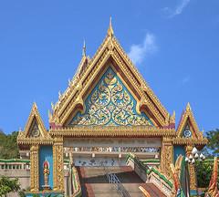 Wat Khao Rang Ubosot Gate (DTHP0546) วัดเขารัง ทรวาร อุโบสถ