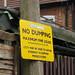 No Dumping - Detail
