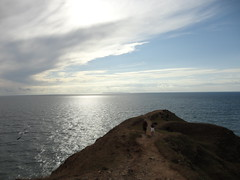 The headland (eltpics) Tags: sea sky abstract coast calm views adjectives distance overhead distant headland eltpics