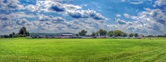 Explored (8.28.2014) (Jamie Smed) Tags: jamiesmed snapseed strickersgrove field 2014 autostitch sony app grass skies trees rides ride light blue handyphoto hdr explored iphoneedit alpha sky tree geotagged geotag facebook a200 landscape august summer cincinnati rural ohio dslr midwest photography clouds