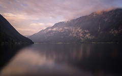 Sunset on the Lake (Brian Hammonds) Tags: camera old city trip travel shadow vacation portrait lake holiday mountains alps color detail history tourism church water beautiful beauty architecture contrast trekking outside outdoors photography austria photo movement ancient nikon europe european photographer tour village cathedral natural bright image hiking euro exploring sightseeing picture culture vivid eu places tourist historic full adventure explore photographs photograph journey abroad frame traveling foreign dslr capture exploration touring austrian d800 traveler lightroom hallstatt travelphotography bravarian