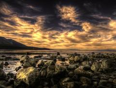 Sunset, Mount Tallac (jasonyurgelevic) Tags: sunset beach tahoe