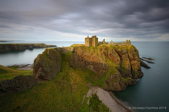 Dunnottar Castle last light (Maurizio Fontana) Tags: road street travel blue light sunset sea sky cloud lake color reflection green castle fall water colors clouds reflections river lago lights mirror scotland waterfall travels nikon europa europe strada tramonto nuvole mare colore nuvola blu united fiume scottish kingdom waterfalls cielo land luci terra acqua colori riflessi isle castello viaggi viaggio luce specchio isola d800 riflesso cascate cascata scozia vedre unito regno