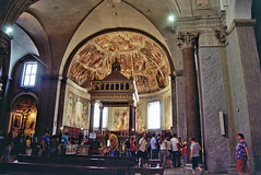 San Pietro in Vincoli (ruttie.g) Tags: bridge italy sculpture vatican roma art architecture painting cathedral roman baroque pillars obelisque