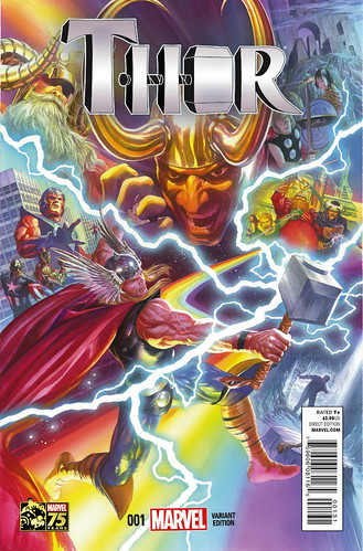 """Thor_1_Ross_75th_Anniversary_Variant • <a style=""""font-size:0.8em;"""" href=""""http://www.flickr.com/photos/118682276@N08/15161807868/"""" target=""""_blank"""">View on Flickr</a>"""