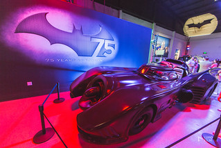 75 years of Batman at Warners Bros Studios.