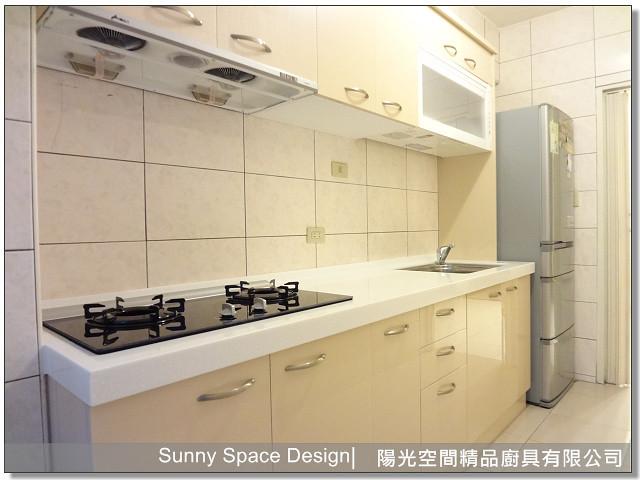 廚具│廚具大王-通化街李太太一字型廚具-陽光空間精品廚具