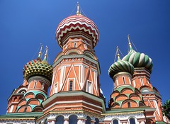St. Basil's Cathedral, Moscow (bbaustin) Tags: cathedral russia moscow churches redsquare kremlin stbasils stbasilscathedral