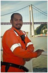 Pump man (Rhannel Alaba) Tags: france port nikon crew bow jerome mate 3rd fitter d90 balearia pumpman pido messman alaba odfjell rhannel