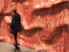 Shadowy Figure (karen axelrad (karenaxe)) Tags: slowshutter icolorama painterly shotoniphone7 iphoneography losangeles