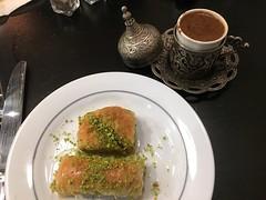 IMG_3259_p (thebiblioholic) Tags: paris restaurant turkishfood coffee baklava dessert