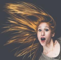 A BLAST (Chris Herzog) Tags: ifttt 500px blast hair shocked startled active fun flying woman