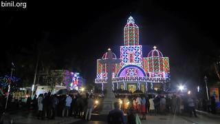 Sacred Heart Church Nadathara Thrissur Thirunal 1