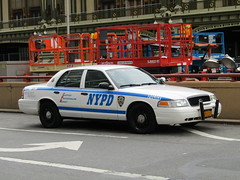 NYPD Slicktop (Evan Manley) Tags: nypd slicktop crownvictoria new york city police car