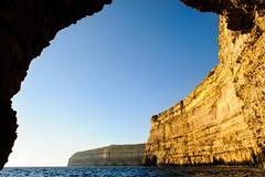 Golden Rock (k.jessen) Tags: azurewindow seascape gozoisland malta mt