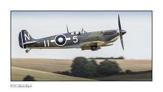 Supermarine Seafire Mk III PP972 takes to the sky [Explored]