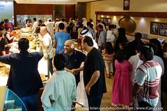Al Aker Sweets Doha (iCandy Qatar) Tags: alaker basem doha kanafeh oriental qatar sweets shop addawhah qa