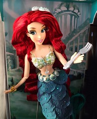 Dinglehopper?! (Richard Zimmons) Tags: ariel doll barbie little mermaid disney store princess le limited edition