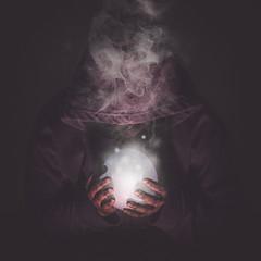 SM20170208-2042 (Korona Lacasse) Tags: cult enchantment fantasy magic magical orb smoke sorcery surreal wizardry portrait