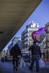 Best Mum ever (tootdood) Tags: canon70d manchester high street fromthehip streetcandid candid best mum ever balloon blue sky