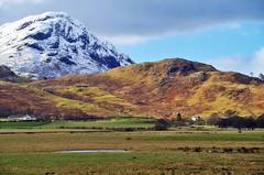 Glen Lyon landscape (Camusvrachan) (eric robb niven) Tags: ericrobbniven scotland landscape glenlyon perthshire walking dundee hills mountains snow