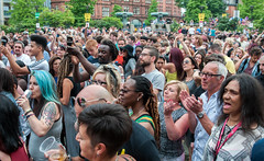 """Audience, Peace Gardens stage @ Tramlines festival (Tim Dennell) Tags: tramlines festival 2016 largest urban europe sheffield uk england music dance entertainers """"timdennell"""""""
