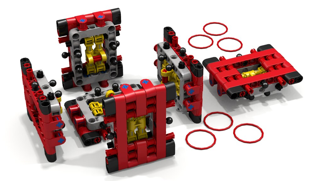 how to make a small lego puzzle box