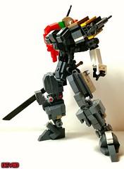 Redeath T-03 (Devid VII) Tags: devid vii military rehead t03 mech mecha robot lego moc mobile mobilesuit suit