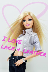 I love lace & leather (sailorb1959) Tags: extensions blonde mackie candies 2005 eyes brown spears britney mattel fever fashion barbie doll