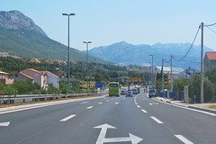 going south :) (green_lover) Tags: road mountains croatia houses cars landscape travels thechallengefactory winner