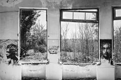 Faces (Vi*TeK) Tags: bianco e nero black white balck muro facce faces murales graffiti ansia abbandono orfanotrifio marcigliana