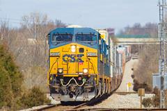 CSX 5486 Q025 Madisonville KY 18 Mar 2017 (Train Chaser) Tags: csx csxt5486q025 madisonvilleky