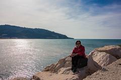 IMG_2049 (Antonio Todesco) Tags: mamma mom gargano pulia puglia calenella peschici mare spiaggia sea beach