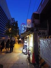 IMGP5615 (digitalbear) Tags: pentax q7 08widezoom 17528mm f374 chidorigafuchi chiyodaku tokyo japan yozakura sakura hanami cherry blossom blooming yurakucho tonkatsu shige tokyointernationalforum kokusai forum