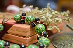 DSC_1018-6 (Liziart Alena) Tags: авторскиеукрашения натуральныекамни бусины хрусталя полимернаяглина фимо зеленый черная смородина бусы браслет комплектукрашений украшениенашею ручнаяработа green instagram jewelery fimo bracelet bijou