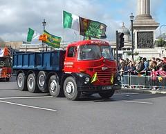 McGovern at St Patrick's Day Parade - London (Waterford_Man) Tags: stpatricksdayparade trafalgarsquare london mcgovern lay631e foden tipper