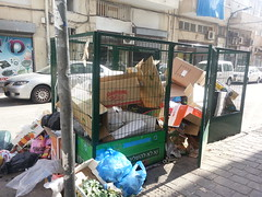 Trash Collection in Florentine (Yoav Lerman) Tags: florentine telaviv lerman לרמן תלאביב פלורנטין