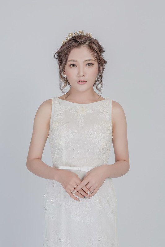 嘉義新秘,嘉義,新娘秘書,白紗造型,韓式風格