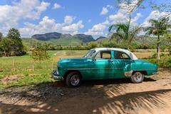 Vinales, Cuba - Old Car (GlobeTrotter 2000) Tags: cuba caribbean vinales pinar del rio visit travel tourism car chevrolet