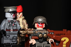 Wunderwaffe (lego slayer) Tags: wonder weapon lego legos wwii german british sas wunderwaffe zombie zombies citizen brick brickarms brickmania citizenbrick mystery box minifigco prototype overmold