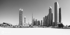 Dubai (foto-ml) Tags: dubai reisen vea vereinigte vereinigtearabischeemirate schwarz sw panorama canon urlaub wanderlust