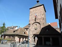 Porte des Forgerons à Molsheim (OT Molsheim-Mutzig) Tags: molsheim porte centreville alsace fortification