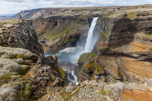 Haifoss Canyon Iceland