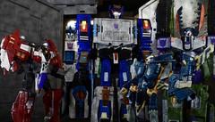 Instant Submission (Dudesnbots) Tags: transformers decepticons predacon armada destron stellar nova deathsaurus megatron terminatrix jetstorm vehicon dudesnbots dudes n bots