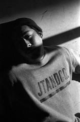 Kami (kageaki.s) Tags: canonet canonetql17 canonetql17giii film bnw blackandwhite kodak portraiture tokyo japan light shadow 400tx trix400 man