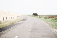Hay bales close to the road - Texel Island (Tobia Scandolara) Tags: road roads strade strada route strasse netherlands texel texelisland holland paesibassi drive haybales bales tobia scandolara tobiascandolara minimalism landscape light