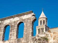 Old city wall (A_Peach) Tags: croatia split panasoniclumixg3
