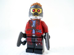Tiny Legendary Outlaw (Homicide_Crabs) Tags: toys star lego lord galaxy minifigs marvel guardians gotg